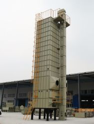 De kleine Doorgevende Toren van de Drogende Machine van de Korrel van de Rijst van het Graan van de Padie van de Tarwe