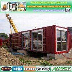 40 FT Expandacontainer House Casa Contêiner Casa prefabricadas de baixo custo e painéis de parede de painéis do tipo sanduíche de EPS