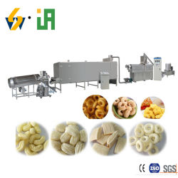 Crianças como máquina de snacks / Puff Snnacks / Linha de Produção de alimentos à base de cereais flocos de milho Kurkue Snacks