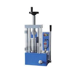 الاستخدام المختبري: 12 طنًا متريًا، 22 مم، الضغط الهيدروليكي بالضغط الإسوسطي مع مقياس ضغط الشاشة الرقمي