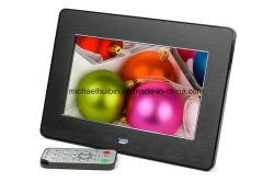 7インチTFT LCDのデジタル映画広告の写真フレーム(HB-DPF705A)