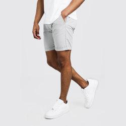 Chinos-Sommer-Kurzschlüsse der dünnen Sitz-Männer Ausdehnungmit kundenspezifischem Firmenzeichen