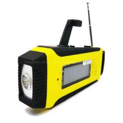 Portable Radios solaire d'urgence de plein air de gros pour le camping avec batterie rechargeable AM/FM/Radio météo NOAA