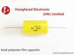 Mea Cl20, de Gemetalliseerde Condensator van de Film van de Polyester (as-Type) voor Impuls Circuit*