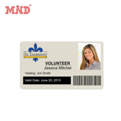 Custom Design Версия для печати студент сотрудника ПВХ пластиковые карты ID