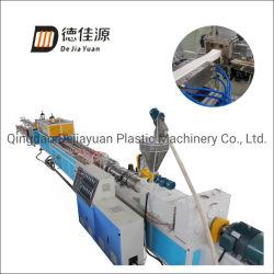 Ventana de PVC por Extrusión de perfil de la línea de producción que hace la máquina de Sjz65/132