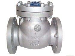 Dn150 316 صمام فحص من الفولاذ المقاوم للصدأ مع سعر بوصة