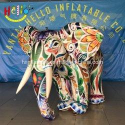 동물성 만화 마스코트 팽창식 코끼리 풍선