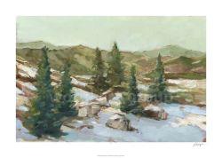 Met de hand gemaakte Olieverfschilderij van het Landschap van de Decoratie van het Huis van de douane het Moderne