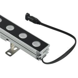 Dimmable 36W IP65 vertiefte Wasser-Beweis-Streifen Wallwasher RGB DMX LED Wand-Unterlegscheibe-Licht