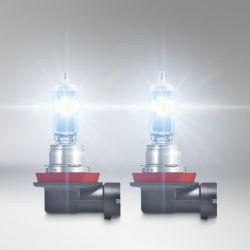 H11 12V 55W Pgj19-2 Nachtunterbrecher-Laser-Selbstlicht-Nebel-Scheinwerfer-Drehung-Lampen-Signal-Halogenbirnen für Auto-Bus und LKW