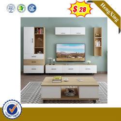 Mobiliário de melamina Projecto orlas PVC TV barato móveis suporte UL-9ser232