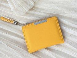 Portafoglio porta carte di credito in PU colorato