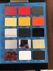 고광택 광택 컬러 실외용 알루미늄 합성 사인 시트