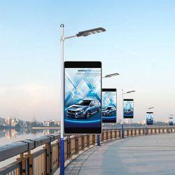 Display LED Factory Street Light Pole per esterni P2.5 P3 P3.91 P4.81 P5 P6 P8 P10 PER INTERNO P0.9 P1.25 P1.5 P2 Schermo video a parete curvo digitale flessibile P2.5