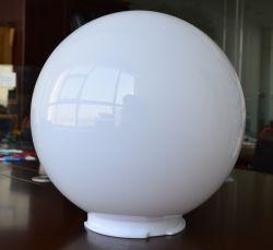 A tampa da luz de acrílico branco em acrílico de alta qualidade da tampa de Globo 250mm