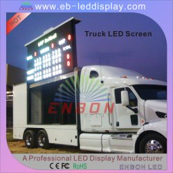 P10 l'écran à affichage LED Mobile pour publicité de plein air sur les chariots avec CE, FCC, RoHS