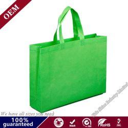 Eco freundlicher organischer kundenspezifischer Drucken-Firmenzeichen-Farben-Einkaufen-Verpackungs-nicht gesponnener Beutel