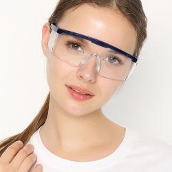 Marcação en166 & ANSI Z87.1+ Material PC pernas ajustáveis Anti-Scratch Óculos de protecção Óculos Óculos de protecção UV óculos de protecção
