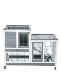Aparelhos electrodomésticos Removable Pequenas e casa de PET em madeira maciça Amazon nova casa de criação de coelho Compartimento de Armazenamento