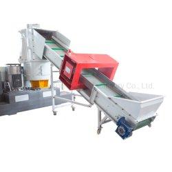 film plastique PP PE Pet granulateur avec Compacteur de recyclage des déchets/sac /PEHD/LDPE bouletage/séchage de concassage Pelletizer /la granulation de l'Extrusion/Machine de l'extrudeuse
