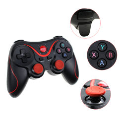 2.4G Wireless teléfono móvil Bluetooth Controlador de joystick para videojuegos de PS3/Android/PC/TV Box/iPad