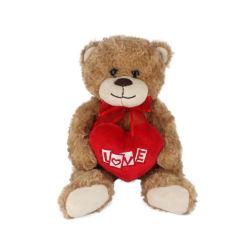 Giocattolo molle sveglio poco costoso personalizzato della bambola della peluche dell'orso dell'orsacchiotto dell'animale farcito