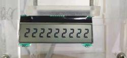 Tic33 Pequeno de 9 dígitos do fluxo de gás de água Smart Display LCD do COG do Dosador