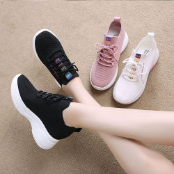 La tendencia al por mayor espesor personalizado único Zapatillas casual andar calzado transpirable populares