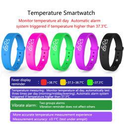 precio de fábrica China de silicona personalizadas USB Smart Watch Band