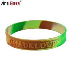 Bracelet colorée de mode de promotion de fermeture à glissière