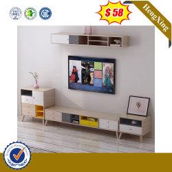 Moderne Nordic Storage Holz TV-Ständer Wohnzimmer Möbel Sofa Tee-Kaffeetisch