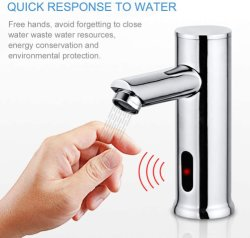 سخانات المياه الفورية في المطبخ الحنفية/صنبور المياه في حوض الصحة