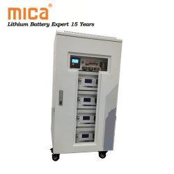 Kabinet van de Opslag van de Zonne-energie 15kwh 10kwh van de Batterijen 20kwh van het lithium het Ionen met het Pak van de Batterij van de Omschakelaar 48V 100ah 5u LiFePO4