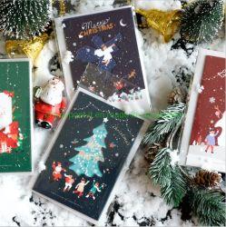 Spezielle Lackmuspapier-glückliches neues Jahr-grüßende Papierkarte