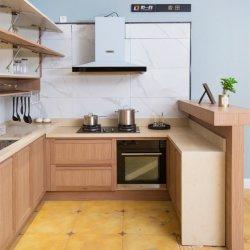 Китай в деревенском стиле с изготовителями оборудования на заводе Деревянные зерна алюминий штампованный алюминий профиль Home Отель мебель современная кухня кабинет