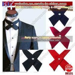 Cruz Bowtie Mens Cravat Corbatas Corbata Pre Arco nuevos Womens Unisex regalo del Día de San Valentín ajustable (B8101)