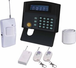 Relay Output (ES-2050GSM)のLCD GSM Alarm System