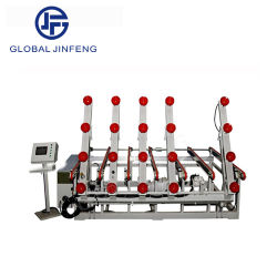 Vidrio automático elevador de carga Cargador de mesa para la transferencia (JFWSP-2520)
