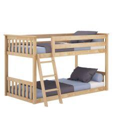 Venta caliente a los niños de madera de pino macizo Muebles de dormitorio camas literas