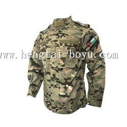 Uniforme de camuflaje del ejército chaqueta con cremallera capa uniforme de camuflaje baratos ropa