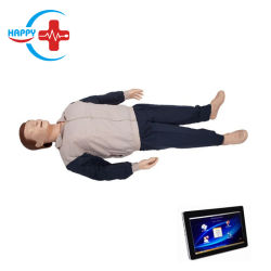 Tablette PC der drahtlosen Ausgaben-Hc-S008 hoch entwickeltes kardiopulmonale Erweckung-Simulator CPR-Trainings-Männchen