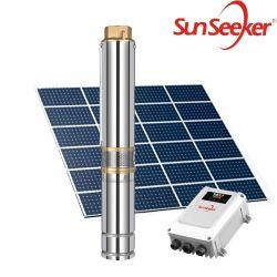 4 pulgadas de la bomba de agua solar con temporizador de 2HP Precio de la bomba de agua solar de la agricultura en Tailandia