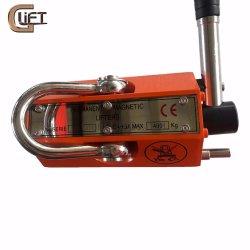100-6000キログラムの常置磁気持ち上がる携帯用手動磁石の揚げべらクレーン(PML-C)