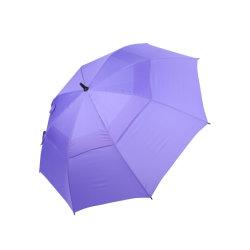 자동 오픈, 완전 유리섬유 샤프트 및 광고용 리브 골프 우산