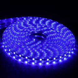 220V 110V LEIDENE Strook 5050 50m 100m IP67 de Waterdichte RGB Verlichting van de Kabel van 16 Kleuren