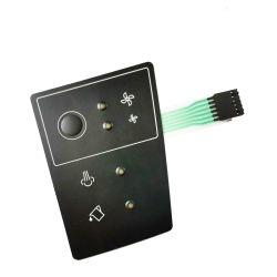 シリコンゴム触覚数字膜スイッチキーパッドをカスタマイズ
