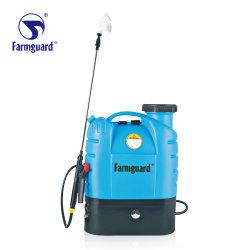 16L Farmguard 재충전용 건전지 단 하나 두 배 펌프 살포 기계 농업 스프레이어