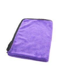 40x60cm Twist Violet velours lavable haute performance de nettoyage voiture chiffon en microfibre
