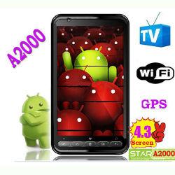 A2000 Android 2.2 Téléphone cellulaire